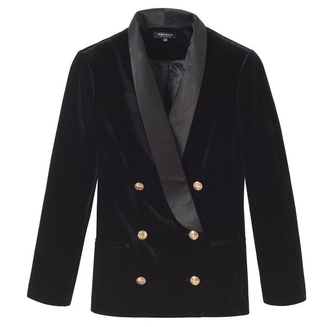 Blazer en velours, Morgan 100 €