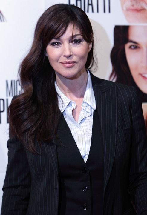 L'actrice italienne Monica Bellucci...