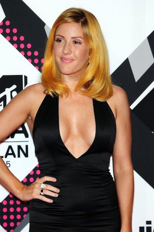 Ellie Goulding aux MTV EMA 2015 à Milans, le 25 octobre 2015