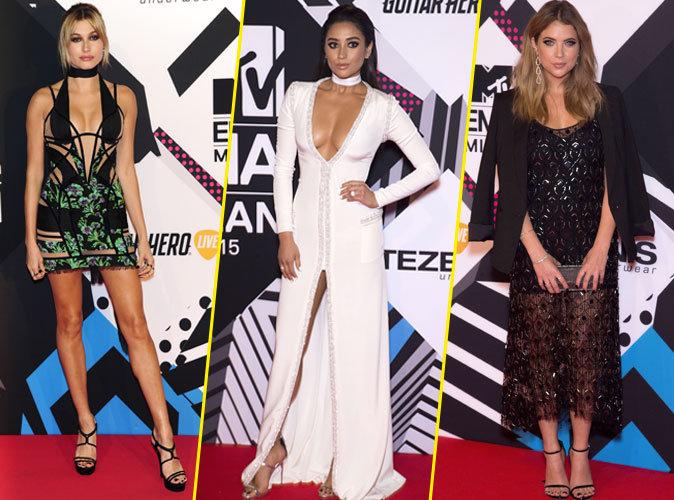 Photos : MTV EMA 2015 : Hailey Baldwin, Shay Mitchell, Ashley Benson… Les plus beaux looks !