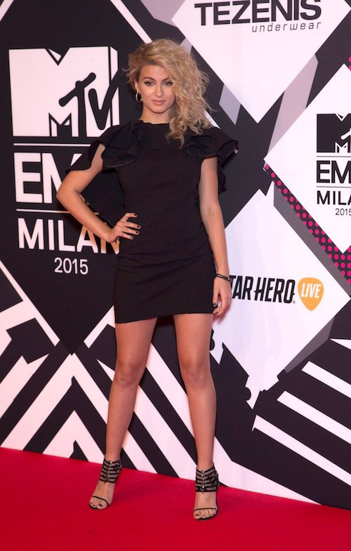 Tori Kelly aux MTV EMA 2015 à Milans, le 25 octobre 2015