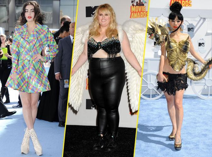 Photos : MTV Movie Awards 2015 : Charli XCX, Rebel Wilson, Bai Ling... Tous les fashion faux pas !