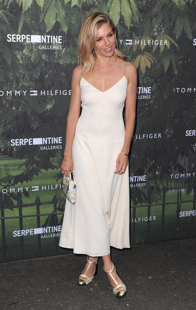 Sienna Miller à la soirée Tommy Hilfiger