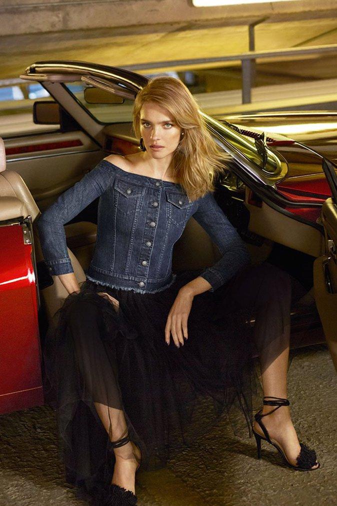 Photos : Natalia Vodianova : sexy et captivante en denim pour Miss Sixty