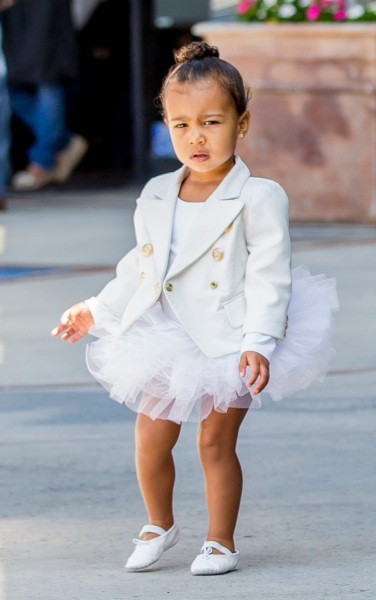 North West en Balmain !