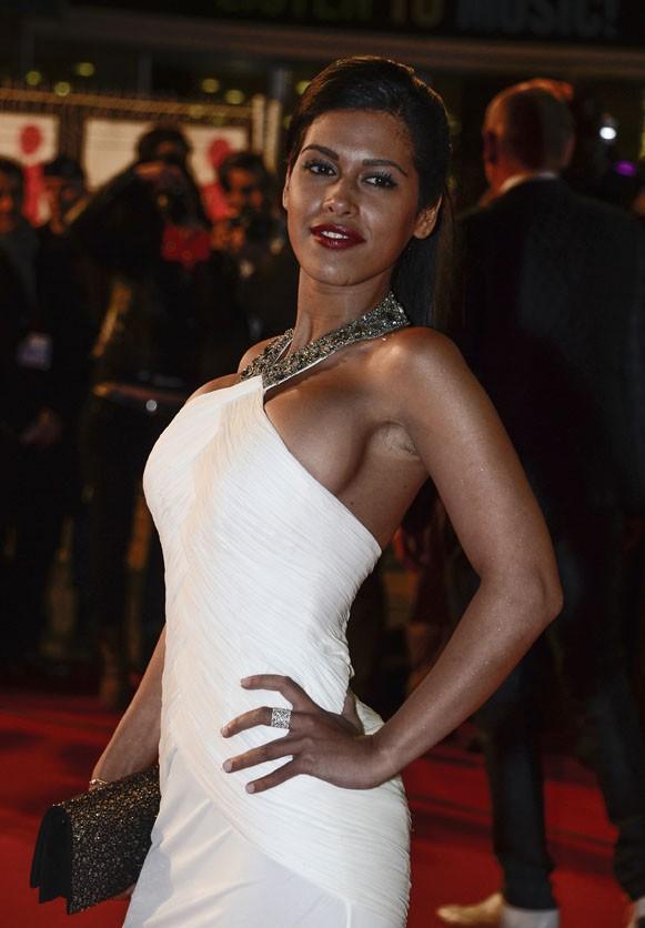 Ayem sur le tapis rouge des 14èmes NRJ Music Awards