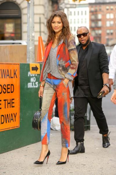 Zendaya en plein New York