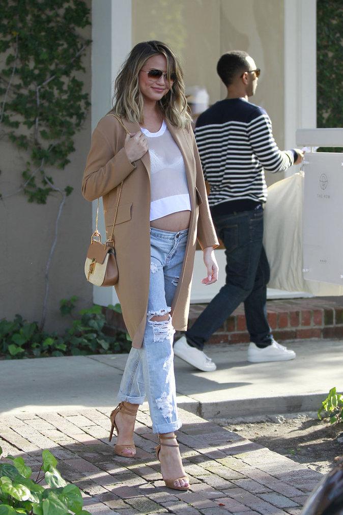 Photos : Palme Fashion : Chrissy Teigen, Kendall Jenner, Rosie Huntington-Whiteley... Qui a été la plus stylée de la semaine ?