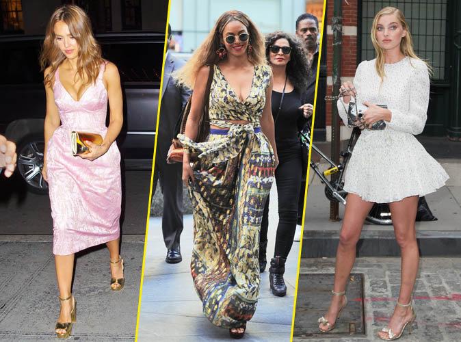 Jessica Alba, Beyoncé et Elsa Hosk