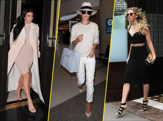 La Palme Fashion : Kim Kardashian, Rosie Huntington-Whiteley, Jennifer Lawrence