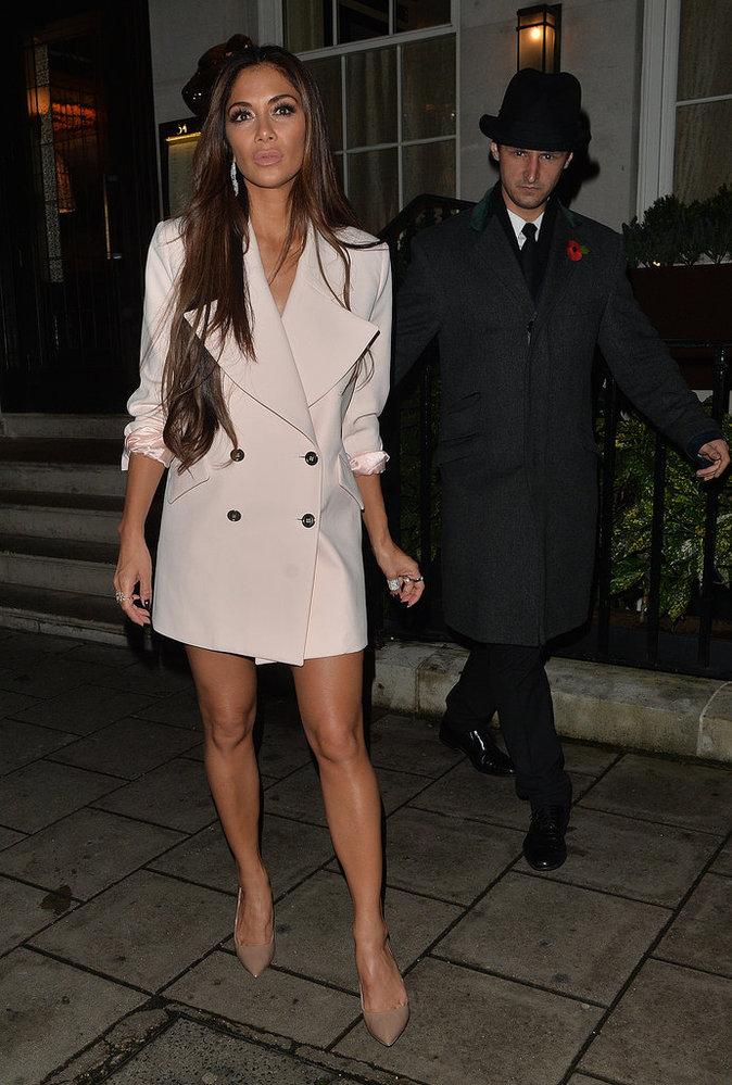 Nicole Scherzinger : le blazer-robe sexy et glamour, c'est canon !
