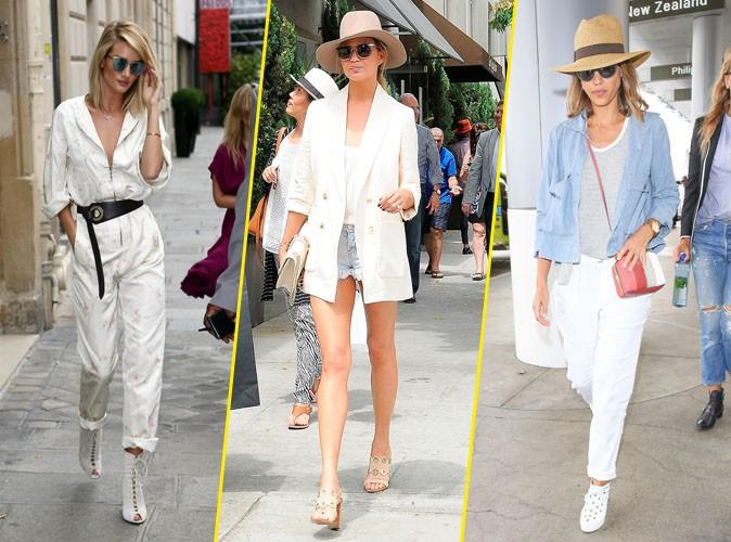 Photos : Palme Fashion : Rosie Huntington-Whiteley, Chrissy Teigen, Jessica Alba... Qui a été la plus stylée de la semaine ?