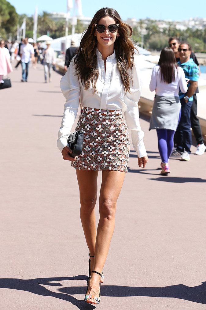 Izabel Goulart à Cannes