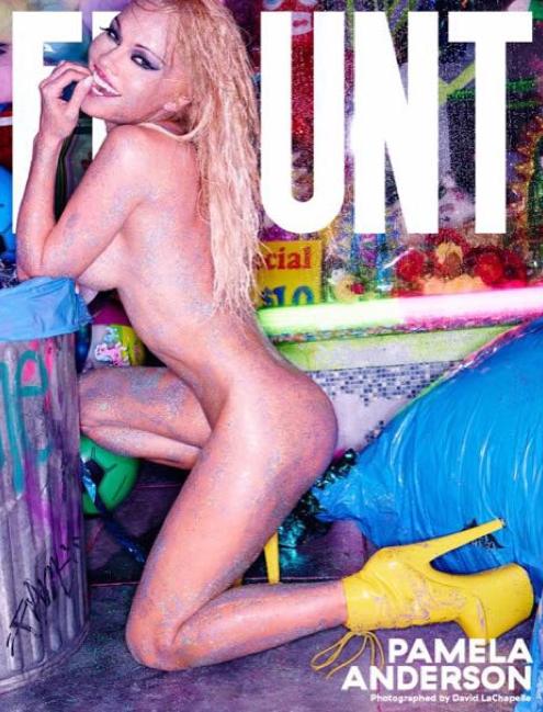 Photos : Pamela Anderson : nue en couv' de Flaunt Magazine !