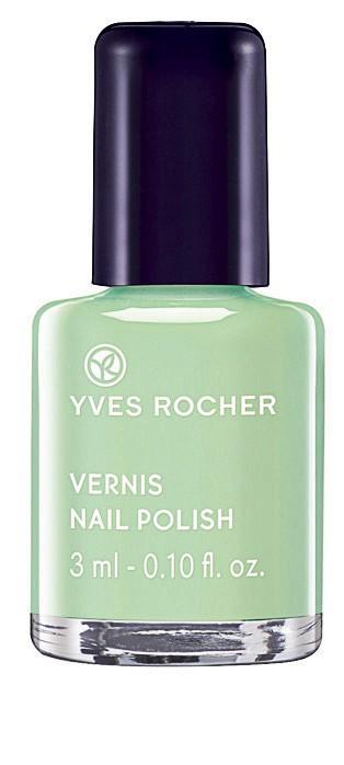 Le vert pastel : Vert d'eau, Yves Rocher 1,95€