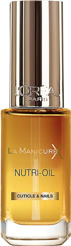 les bons outils : huile nourrissante, La Manicure Xtreme, L'Oréal 8,50 €