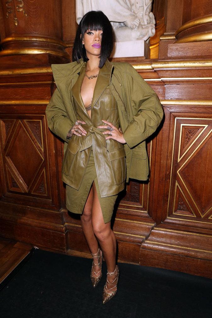 Rihanna en Balmain