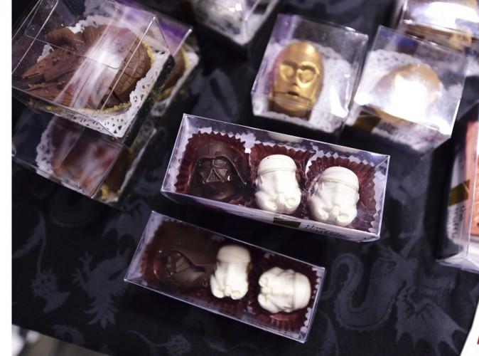 Dark Vador pour le côté obscur du chocolat...