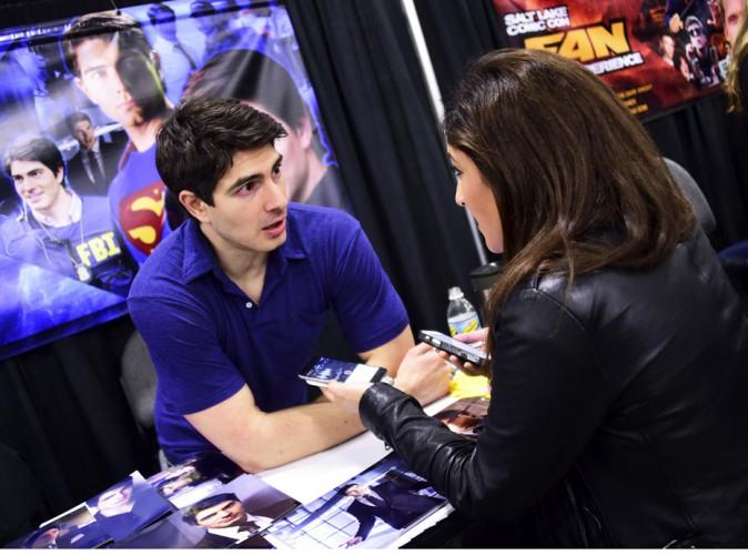 Interview improvisée avec le sexy Brandon Routh (Superman Returns).
