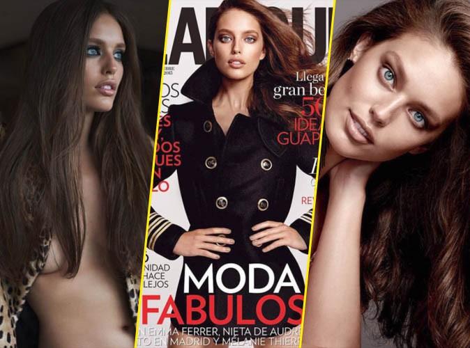 """Photos : Quand le mot """"beauté"""" rime avec Emily DiDonato ! Elle pose pour Glamour Espagne !"""