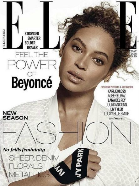 Photos : Beyoncé lance Ivy Park et pose en couverture des magazines Elle US et UK !