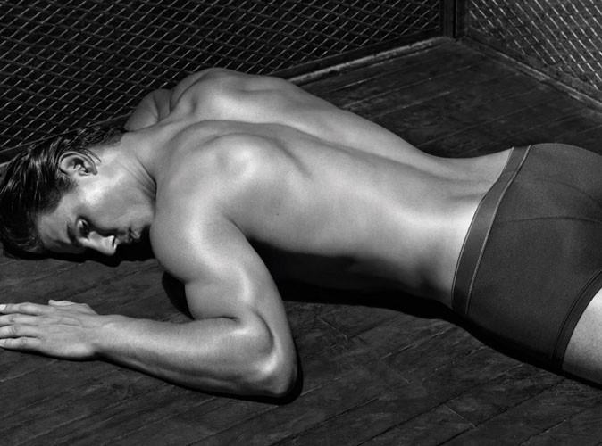 Rafael Nadal pour Armani Underwear.