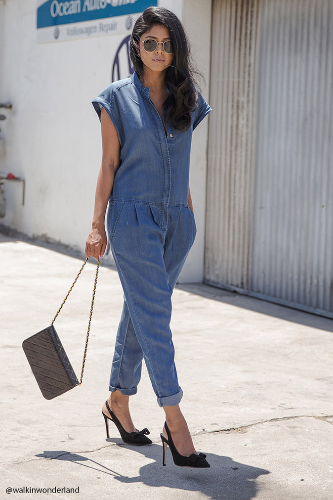 Combinaison en jean – Forever 21 – 36 €