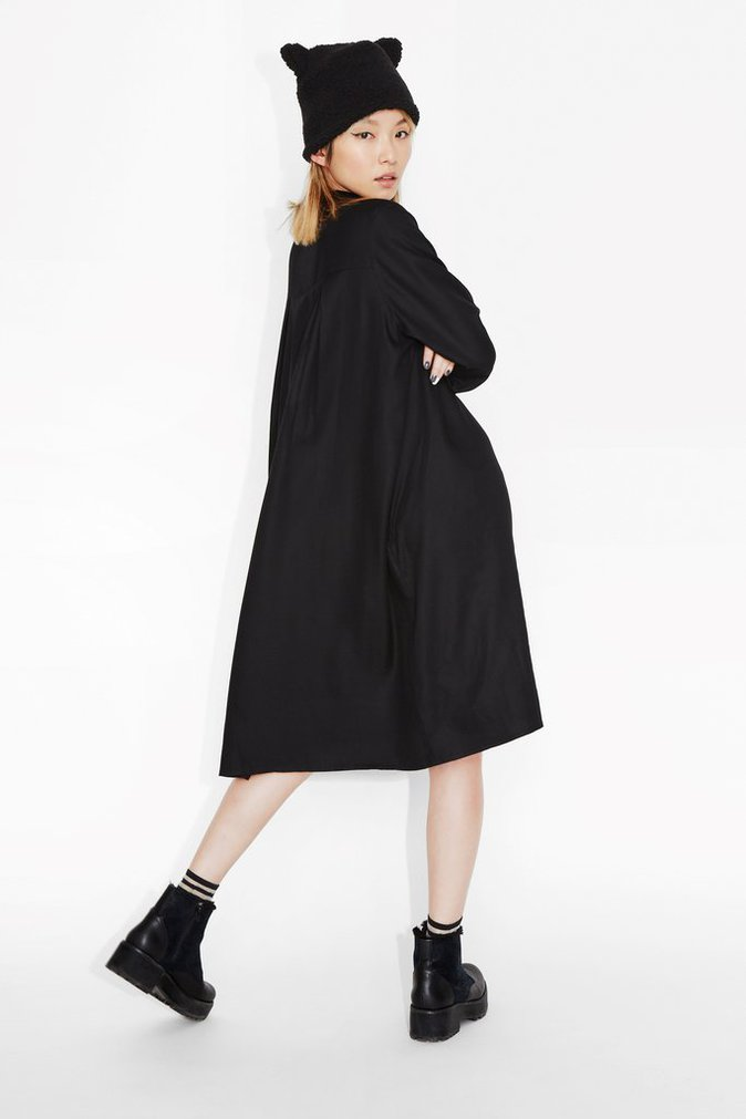 Robe en flanelle – MONKI – 30€