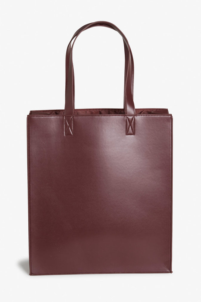Tote bag en cuir – MONKI – 25€