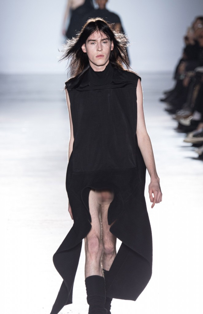 Rick Owens collection homme printemps-été 2015