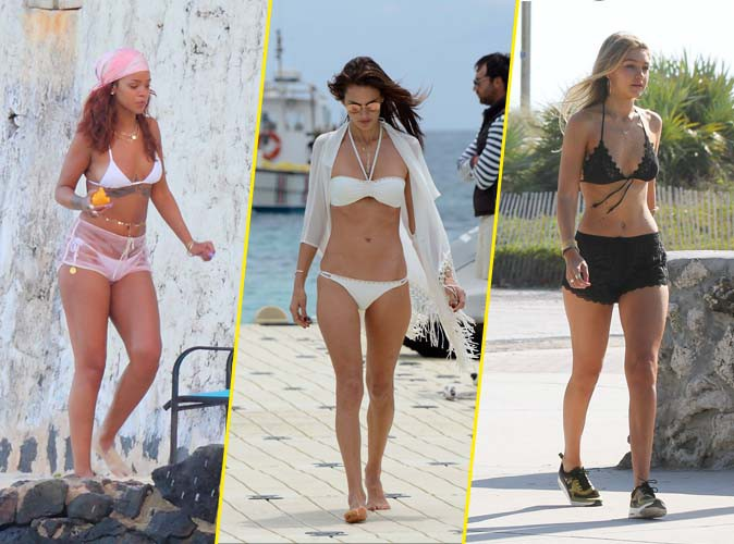 Rihanna, Alessandra Ambrosio, Gigi Hadid... Elles sortent toutes le bikini !