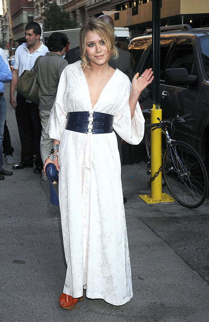 Mary Kate Olsen porte des chaussures Sonia Rykiel