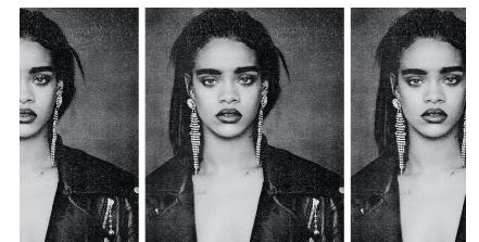 "Rihanna dans son clip ""Bitch Better Have My Money"""