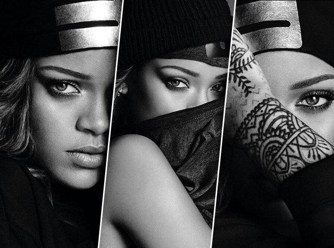 Rihanna : saisissante et mystérieuse, elle prend la pose pour Fenty x Puma