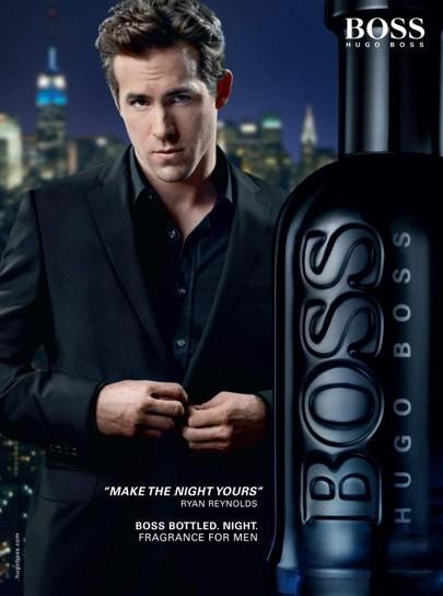 En 2010, pour Hugo Boss Night