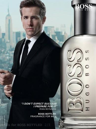 En 2010, Ryan devient égérie Hugo Boss
