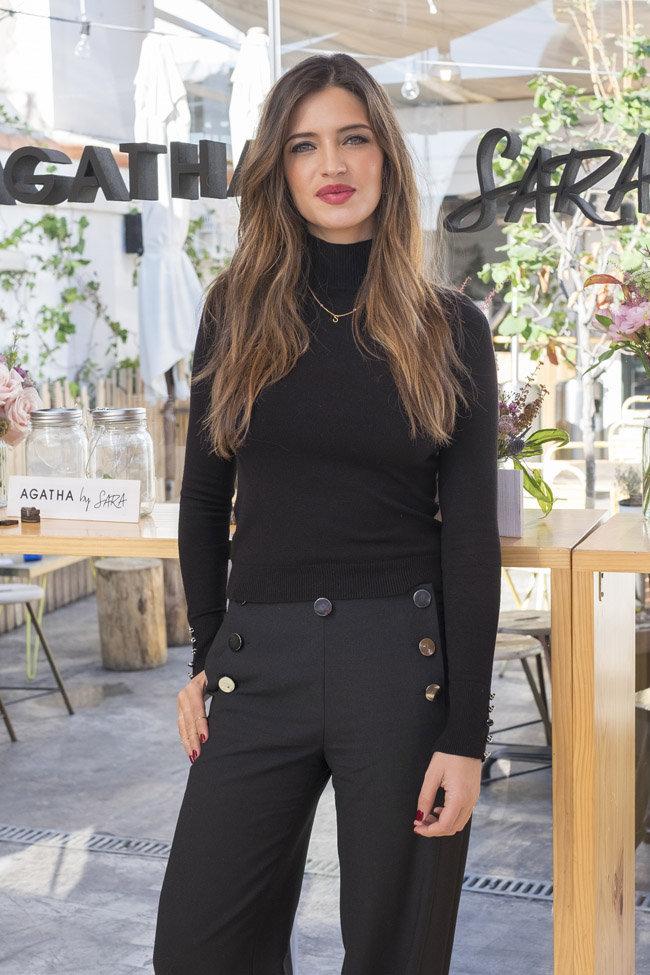 Sara Carbonero à Madrid le 12 novembre 2015