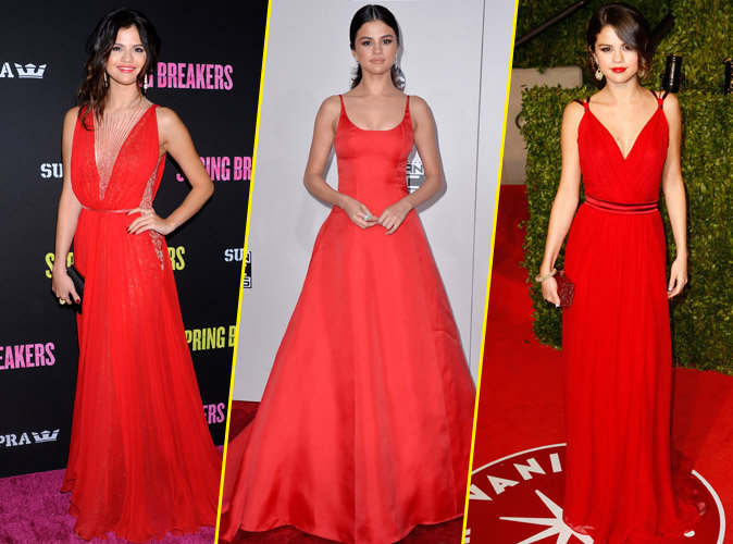 Photos : Selena Gomez : Sa passion pour le rouge