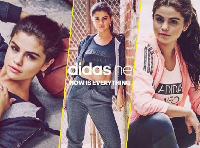 Photos : Selena Gomez, teenager girly pour la collection automne de Neo d'Adidas !