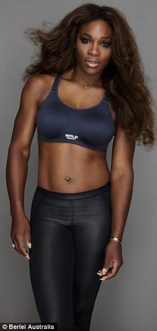 Photos : Serena Williams : fière de ses courbes, elle pose en lingerie pour Berlei !