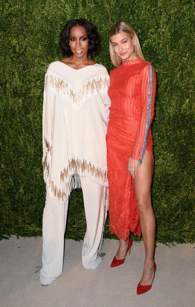Kelly Rowland et Hailey Baldwin