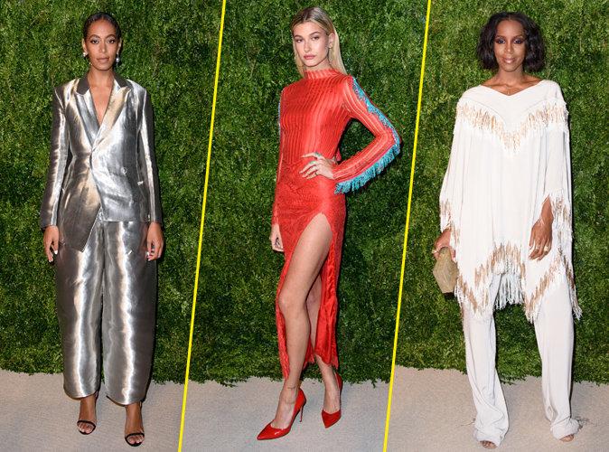 Photos : Solange Knowles, Hailey Baldwin, Kelly Rowland... Pluie de bombes pour les CFDA Awards