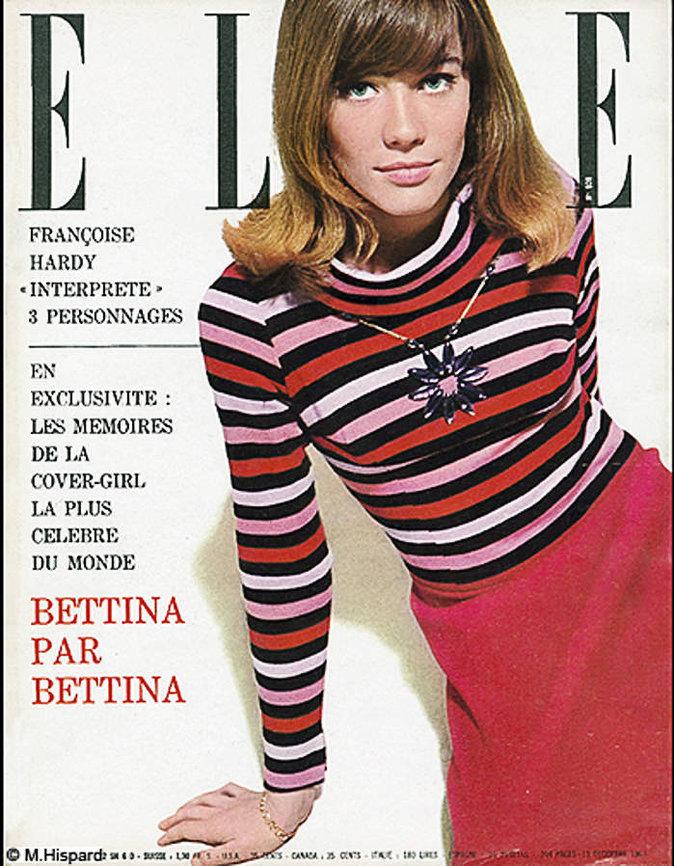 Couverture de ELLE Magazine en Sonia Rykiel