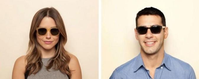 Sophia Bush et Adam Braun pour les lunettes Warby Parker