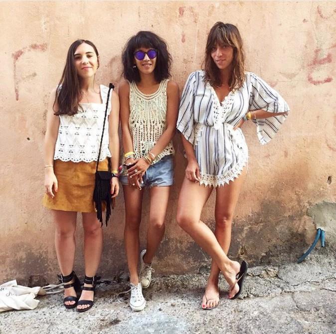 Margaux (@BarocknRoll), Leeloo (@DressingLeeloo) et Vanessa Perroud (@larmoirepour2)