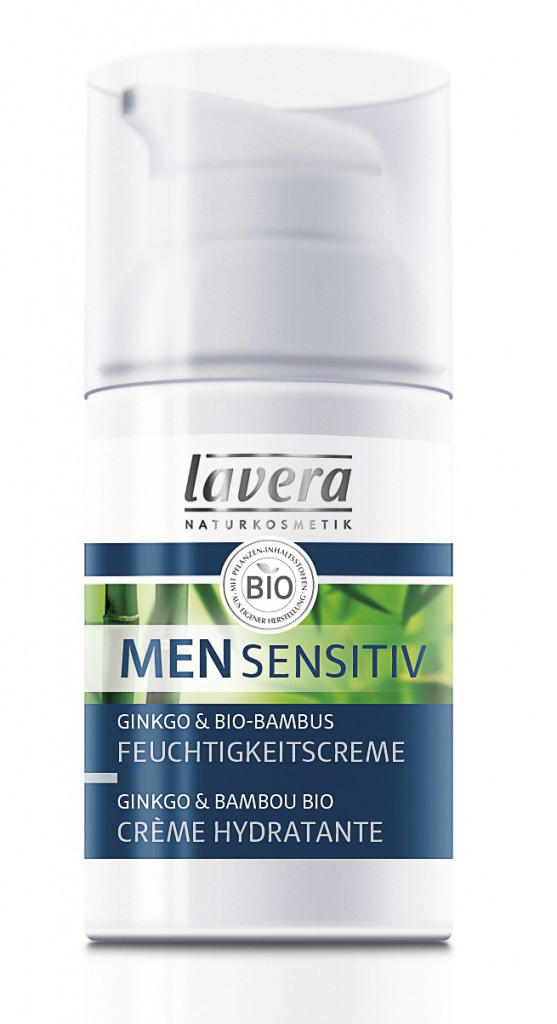 Crème hydratante, Men Sensitiv, Lavera 10€
