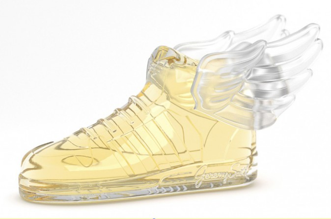 Eau de toilette, Wings 2, Jeremy Scott pour Adidas Originals, chez Colette 95€