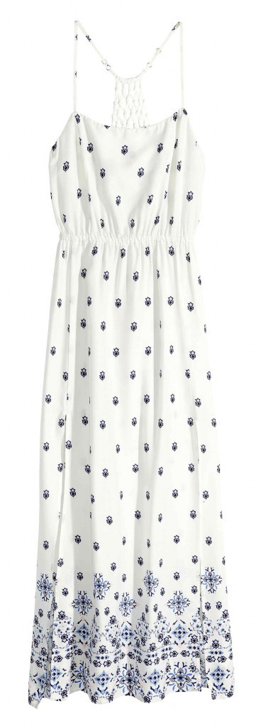 Robe longue, H&M 19,99€