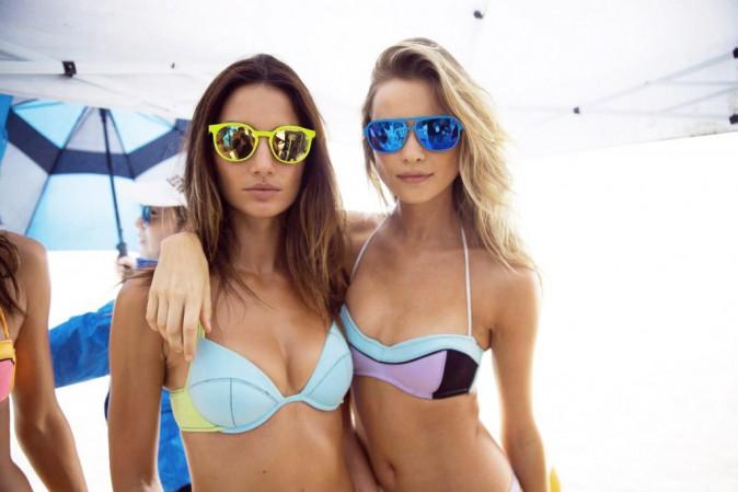 Le sportwear : Lily Aldridge et Behati Prinsloo