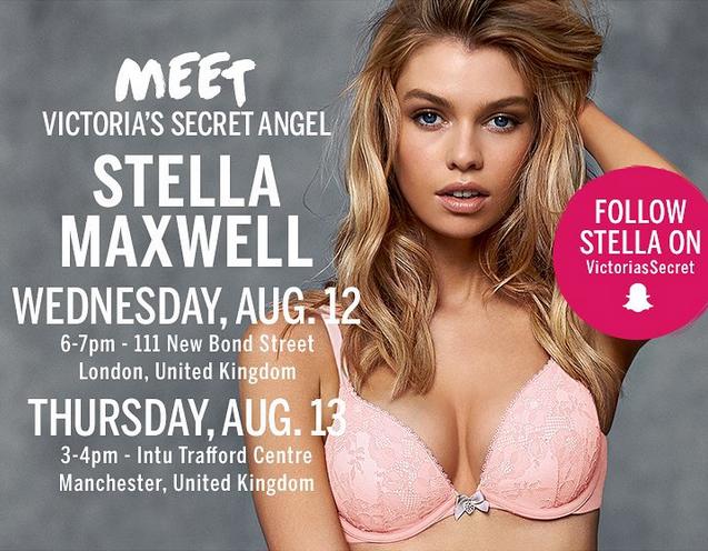 Stella Maxwell en pleine promo à Londres pour VS
